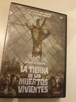 Dvd LA TIERRA DE LOS MUERTOS VIVIENTES  (OBRA MAESTRA )de George A romero