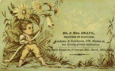 Mr. & Mrs. Shank Dance Teachers Palacca Quadrille Fantasy Fairy In Flowers P98