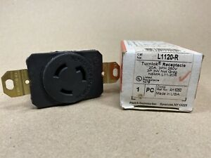 Pass & Seymour Industrial Turnlok Receptacle L1130-R 20A 250V L1120-R