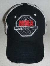 Mixed Martial Arts MMA Signatures Clinch Gear Baseball Hat Cap FlexFit L/XL