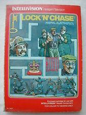 * INTELLIVISION COMPLET LOCK'N'CHASE N° 5637 DE 1982