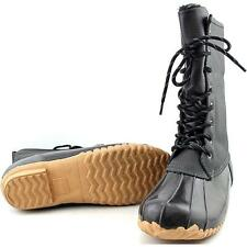 Sporto Daphne Women US 9 Black Snow Boot Pre Owned  1111