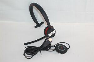 Avaya L129 USB Wired Magnetic QD Monaural Headset w/ L100 Controller