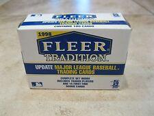 1998 Fleer Tradition Update Baseball Set - Factory Sealed