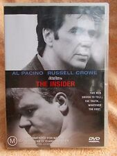 THE INSIDER AL PACINO RUSSELL CROWE DVD M R4