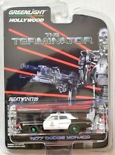 GREENLIGHT HOLLYWOOD SERIES 19 GREEN MACHINE 1977 DODGE MONACO THE TERMINATOR W+