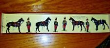 Britains Soldiers Regiments of Nations 11th Hussar's Dismounted Set 182 Boxed