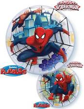 """22"""" BUBBLE BALLOON """"MARVEL'S ULTIMATE SPIDER-MAN"""" PARTY DECORATION - STRETCHY"""