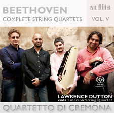 L. Beethoven / Quart - Beethoven: Complete String Quartets 5 [New SACD]