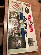 New York Jets NFL Monopoly Collector's Edition Board Game 2004 Joe Namath - NEW