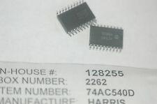 HARRIS 74AC540D Logic CMOS Bus Interface Octal Controller Lot Quantity-10