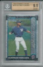 1999 Bowman Chrome #350 Alfonso Soriano RC BGS 9.5 Gem Mint New York Yankees