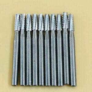 20 PCS Dental Carbide Drill Burs FG-558 Tungsten Steel for High Speed Handpiece