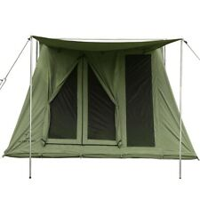 Waterproof 2 Person Two Man Camping Cotton Canvas Stout Single Wall Cabin Tent