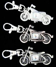 New Motorbike design Key Ring Chain watch Children kids boys girls gift DK57
