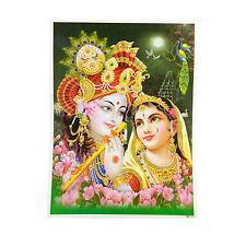 Immagine KRISHNA RADHA 30 x 40 CM stampa d'arte