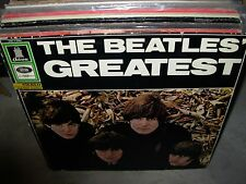 BEATLES greatest ( rock ) - germany - odeon 2nd pressing -