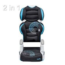 Car Booster Seats for Kids Growing Children Rear Chair 2 Seats In 1 Cup Holders