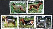 Bhutan 1973 - Dogs (5) MUH (Photos)