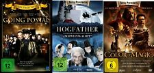 TERRY PRATCHETT FILM DVD COLLECTION HOGFATHER / GOING POSTAL / COLOUR OF MAGIC