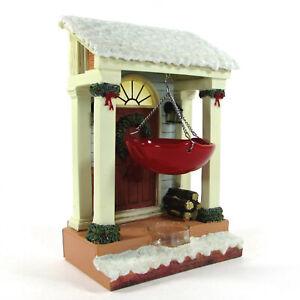 "Yankee Candle HOLLY DOOR 10"" Tea Light Tart Burner Illuminated Christmas 1504310"