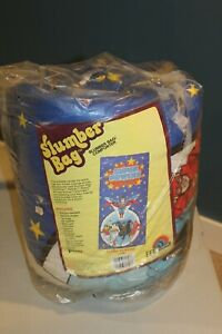 NEW 1984 Super Powers Slumber Sleeping Bag NOS Superman Batman Flash Robin RARE