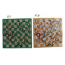 Folding Snake Chess Toys Portable Snakes ladders Puzzle Game Preschool Toys LJ