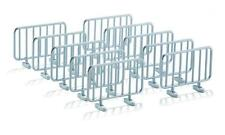 SIKU 1:32 Scale 7066 Pack of 20 METAL BARRIERS New in Bags 78mm Long 56mm Tall