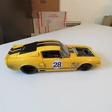1967 SHELBY MUSTANG GT500 KR DIRT MARK#28 JADA BIGTIME MUSCLE 1:18 SCALE DIECAST