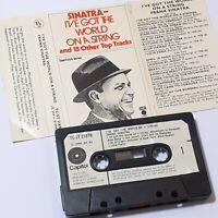 FRANK SINATRA I'VE GOT THE WORLD ON A STRING CASSETTE TAPE ALBUM EMI CAPITOL