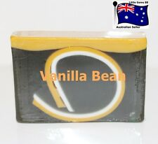 HANDMADE NATURAL TRANSPARENT SOAP ~ Vanilla Bean ~ 100GRAMS ~ 4 for $8 Postage