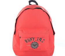 Roxy para Mujer Bolsa Mochila Niños Mochila Escuela Rubor CORAZÓN CORAL/DURAZNO