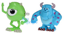 Takara Tomy Disney M-08/09 SULLEY MIKE 2X Monsters Inc. Wind-up Movin Toy Figure