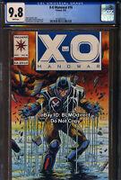 CGC 9.8 1993 X-O Manowar #16 First Print Valiant Comics