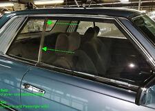 Set - Mercedes C107 W107 Coupé Seal Rubber SLC rear window vertical A1076730224