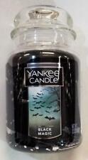 Yankee Candle BLACK MAGIC Large Jar 22 Oz Housewarmer New Wax Halloween