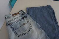 LTB by Little Big Damen Jeans regular Hose 31/32 W31 L32 acid blau P6