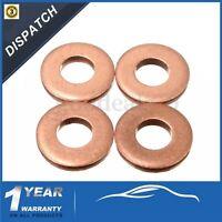 4 x injecteur rondelle cuivre joints o-ring pour Peugeot / Citroen 1.6 HDI - 198