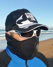 BLACK 'WINTER' FACE SHIELD / HEAD SOCK / BALACLAVA - UV/WIND BUFFER FOR FISHING