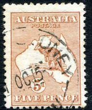 More details for australia-1913 5d chestnut sg 8  good used v27679