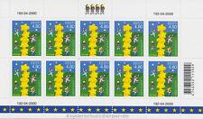 EUROPA CEPT 2000 STERNENTURM - ESTLAND ESTONIA 371 KLEINBOGEN **