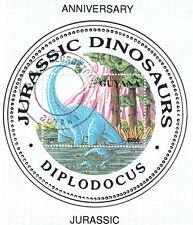 (21592) Guyana - Dinosaurs Diplodocus 1993 Minisheet - fine used