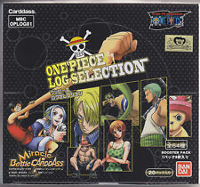 Miracle Battle Carddass One Piece Log Selection Box