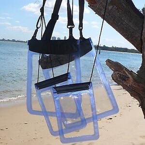 4 x WATERPROOF CASES IP-65 Dry Bags Hiking Boat Kayak Map Fishing Beach camping