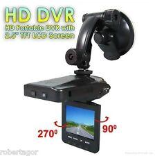 """MINI DVR TELECAMERA VIDEOREGISTRATORE PER AUTO HD MONITOR LCD 2.5"""" VIDEO 6 LED"""