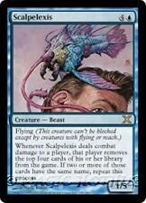 SCALPELEXIS Tenth Edition MTG Blue Creature — Beast RARE