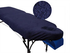 Navy Blue Couch Cover for Massage Table with Breathe Hole