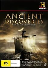 ANCIENT DISCOVERIES: SHIPS, WEAPONS & STRUCTURES (DVD, R4, 2-Discs, Free Post)