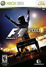 F1 2010 Xbox 360 Formula 1 Kids Car Racing Game Complete Very Good )