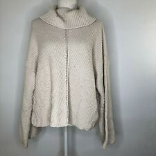 $115 CUPCAKES AND CASHMERE Randy Turtleneck Sweater Sz L